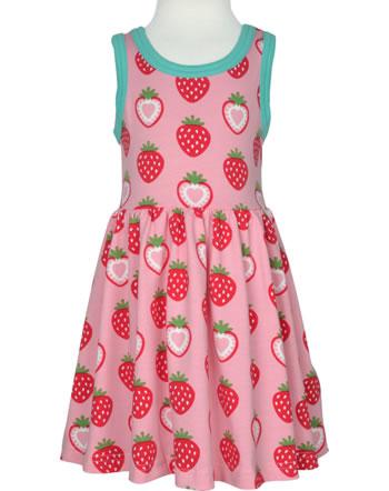 Maxomorra Robe manches courtes STRAWBERRY rosé C3484-M541 GOTS