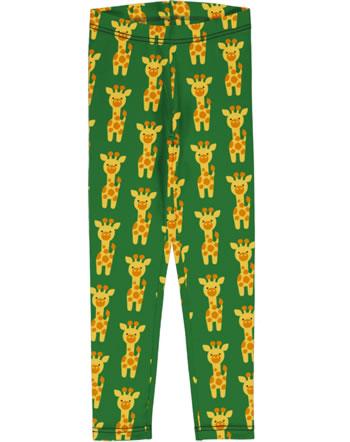 Maxomorra Leggings GIRAFFE grün C3424-M474 GOTS