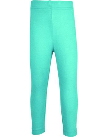 Maxomorra Leggings SOLID AQUA blau C3516-M512 GOTS