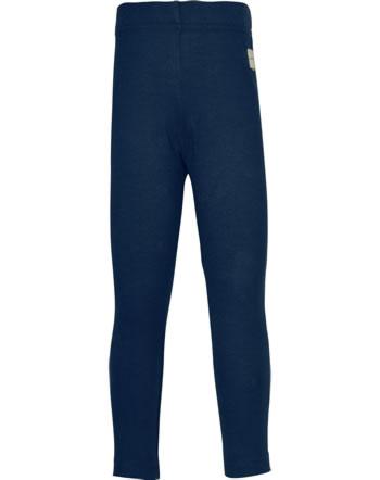 Maxomorra Leggings SOLID NAVY blau C3494-M512 GOTS
