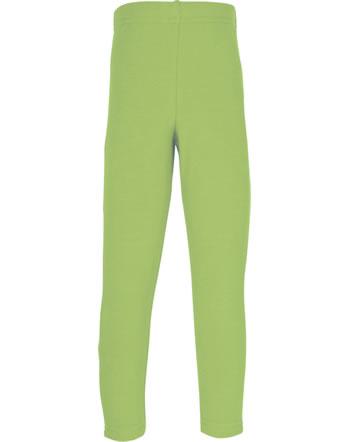Maxomorra Leggings SOLID PEAR grün C3496-M512 GOTS