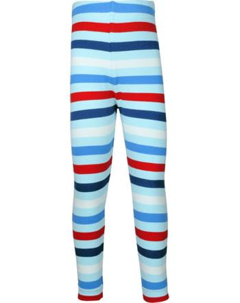 Maxomorra Leggings STRIPE ICE blau C3492-M518 GOTS