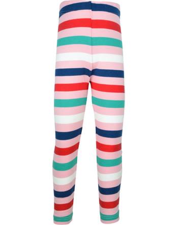 Maxomorra Leggings STRIPE stripe blossom C3438-M518- GOTS