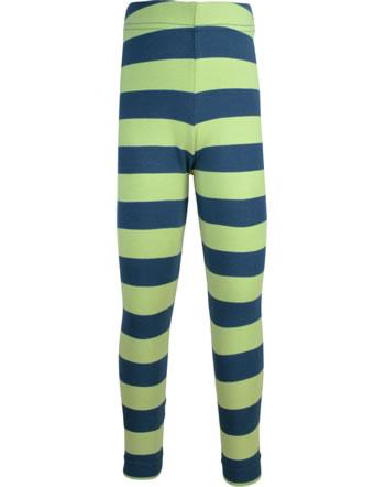 Maxomorra Leggings STRIPE stripe fern C3447-M518 GOTS