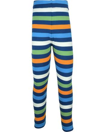 Maxomorra Leggings STRIPE stripe navy C3437-M518 GOTS