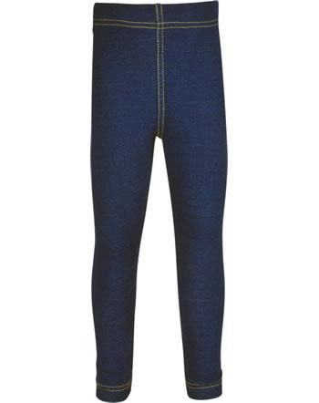 Maxomorra Leggings Sweat SOLID INDIGO blau C3498-M653 GOTS
