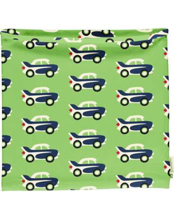 Maxomorra Loop Scarf Tube CAR green C3474-M480 GOTS