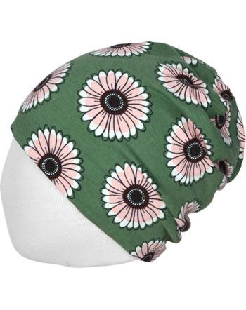 Maxomorra Mütze Beanie CALENDULA grün C3433-M544 GOTS
