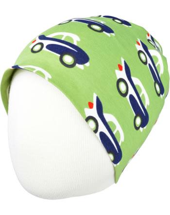 Maxomorra Hat CAR green C3474-M544 GOTS
