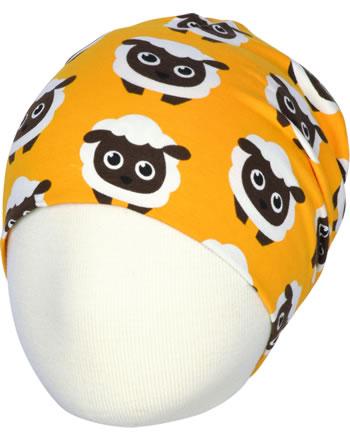 Maxomorra Mütze Beanie CLASSIC SHEEP orange C3501-M575 GOTS
