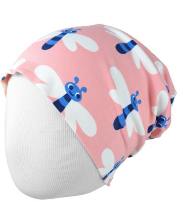 Maxomorra Hat Beanie DRAGONFLY pink C3472-M544 GOTS