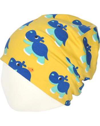 Maxomorra Mütze Beanie HIPPO gelb C3488-M544 GOTS