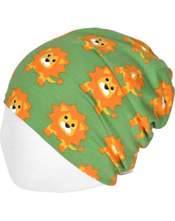 Maxomorra Mütze Beanie LION grün C3487-M544 GOTS