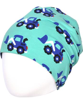 Maxomorra Mütze Beanie LOADER blau C3480-M544 GOTS