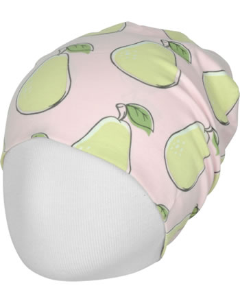Maxomorra Mütze Beanie PEAR rosa C3417-M544 GOTS