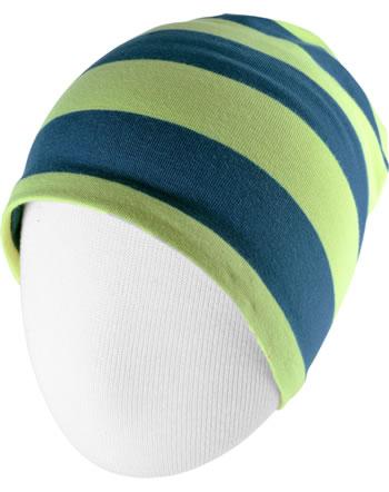 Maxomorra Hat STRIPE stripe fern C3447-M521 GOTS