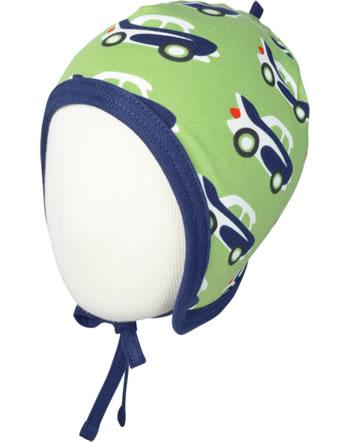 Maxomorra Hat to tie CAR green C3474-M391 GOTS