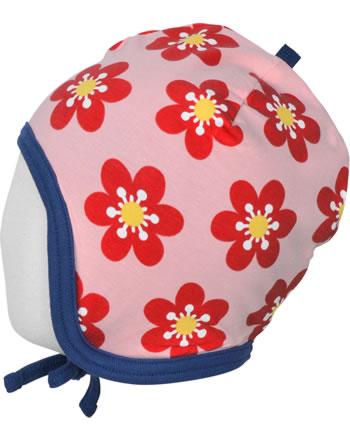 Maxomorra Hat Helmet Velour ANEMONE pink/blue C3430-M484 GOTS