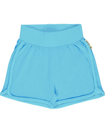 Maxomorra Runner Shorts SOLID sky GOTS M537-C3361