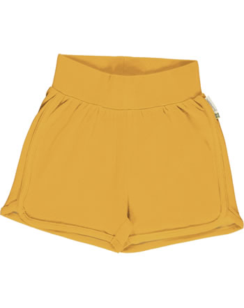 Maxomorra Runner Shorts SOLID TANGERINE orange C3503-M584 GOTS