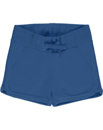 Maxomorra Runner Shorts Sweat SOLID navy GOTS M536-C3359