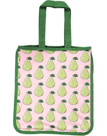 Maxomorra Shopping Bag PEAR pink C3417-M494 GOTS