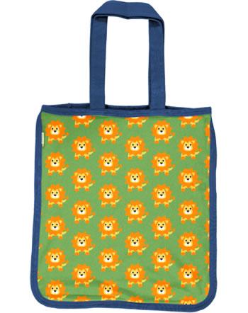 Maxomorra Shopping Bag Sweat LION green C3487-M562 GOTS