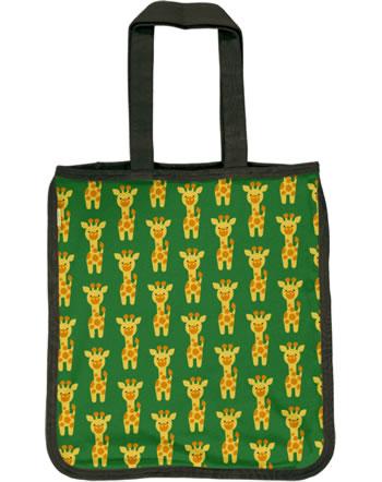 Maxomorra Shopping Bag GIRAFFE green C3424-M494 GOTS