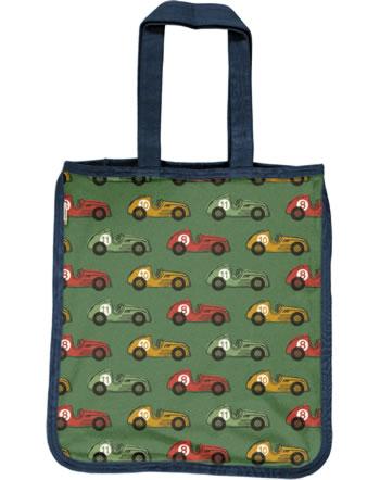 Maxomorra Shopping Bag Tragetasche VINTAGE RACE grün C3418-M494 GOTS