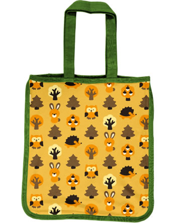 Maxomorra Shopping Bag Tragetasche YELLOW FOREST gelb C3423-M494 GOTS