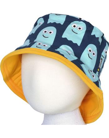 Maxomorra Hat Sun CLASSIC GHOST blau/orange C3499-M576 GOTS