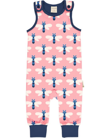 Maxomorra Playsuit DRAGONFLY pink C3472-M475 GOTS