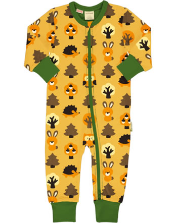 Maxomorra Rompersuit YELLOW FOREST yellow C3423-M477 GOTS