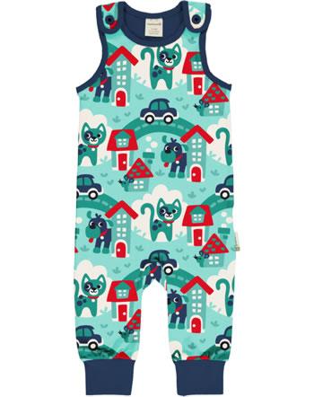 Maxomorra Grenouillère TOWN turquoise C3479-M475 GOTS