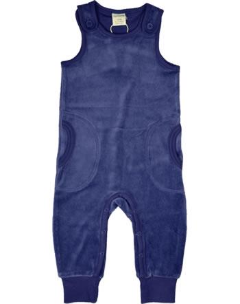 Maxomorra Strampler Velours NAVY blau XAS2-43A GOTS