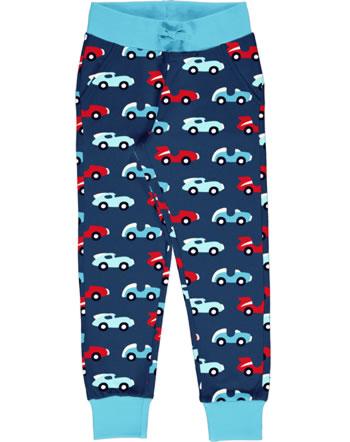 Maxomorra Sweatpants RACE blue/red C3426-M456 GOTS