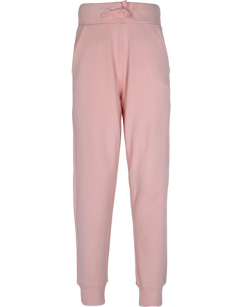 Maxomorra Sweat-Hose m. Bund SOLID dusty rose GOTS M550-D3310