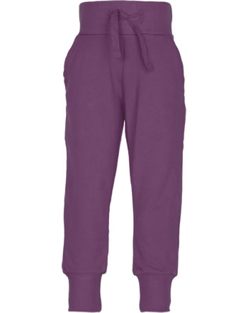 Maxomorra Sweatpants SOLID plum M456-D3306 GOTS