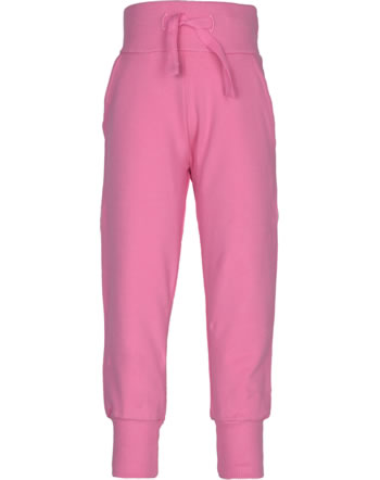 Maxomorra Sweat-Hose m. Bund SOLID rose pink M367-D3257 GOTS
