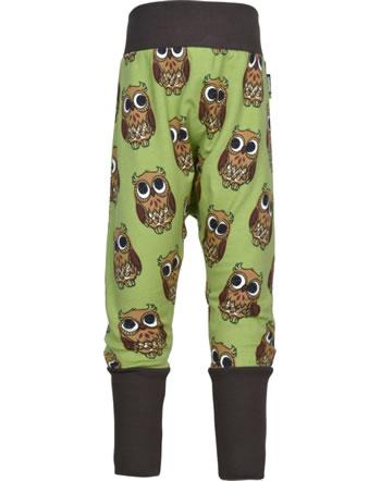 Maxomorra Sweat-Hose mit Bund OWL grün C3416-M547 GOTS