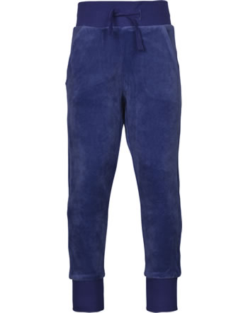 Maxomorra Sweat-Hose Velours NAVY blau XAS2-46A GOTS