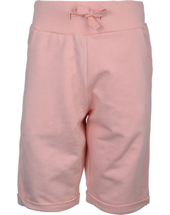 Maxomorra Sweat-Shorts Bermuda SOLID dusty rose GOTS M543-D3310