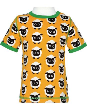 Maxomorra T-Shirt Kurzarm CLASSIC SHEEP orange/grün C3501-M587