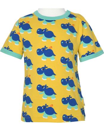 Maxomorra T-Shirt short sleeve HIPPO yellow C3488-M468 GOTS