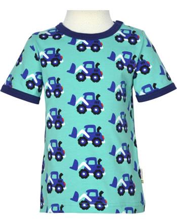 Maxomorra T-Shirt short sleeve LOADER blue C3480-M468 GOTS