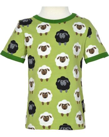 Maxomorra T-Shirt short sleeve SHEEP green C3482-M468 GOTS