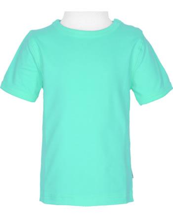 Maxomorra T-Shirt Kurzarm SOLID AQUA blau C3516-M448 GOTS