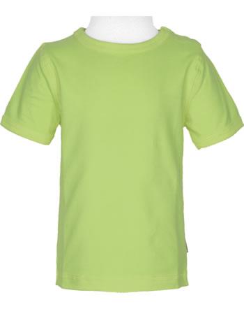 Maxomorra T-Shirt short sleeve SOLID PEAR green C3496-M448 GOTS