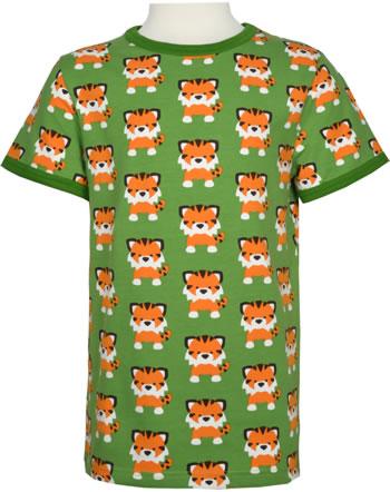 Maxomorra T-Shirt Kurzarm TANGERINE TIGER grün GOTS M468-C3338
