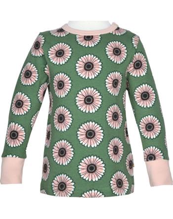 Maxomorra T-Shirt long sleeve CALENDULA green C3433-M467 GOTS